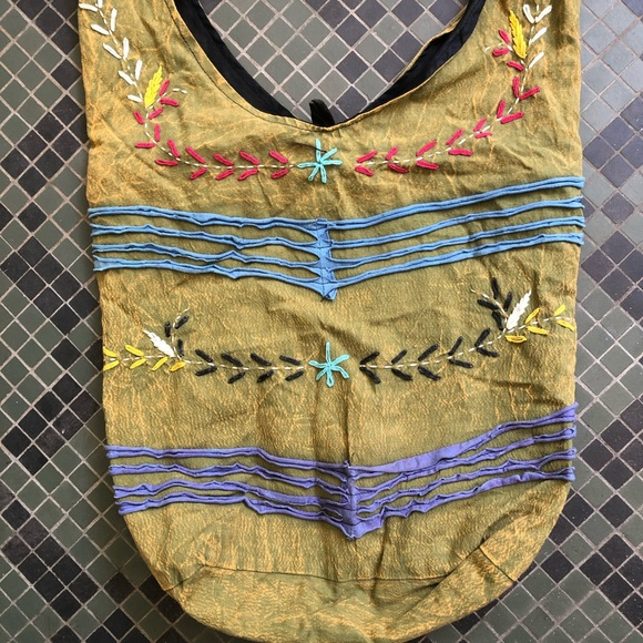 Handbags - Boho Hippie Hobo Crossbody Bag from Nepal